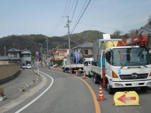 広島県内でオメガライナーの施工を行いました
