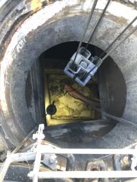 某所にて伏せ越し管の清掃作業を行いました!