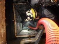 某所にて配管及びピット内の洗浄作業を行いました!