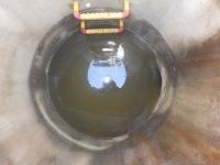 某所にて下水管のTVカメラ調査を行いました!