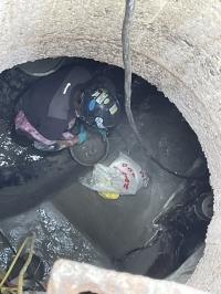 某所にて下水管きょ内インバート修繕工事を行いました!