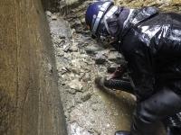 某所にて暗渠清掃作業を行いました!