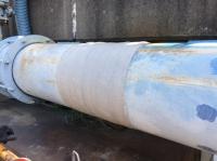 某所にて圧送管の修繕作業を行いました!